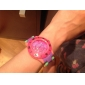 Unisex Plastic Quartz Analog Wrist Watch (Multi-Colored)