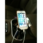 Car Mount Soporte con carga para el iPhone y Samsung Galaxy S3 I9300