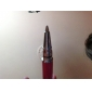 touchscreen skrive stylus med kuglepen for iPad, iPhone, playbook, Xoom og P1000 (lyserød)
