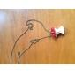 Czeski Apple szczęśliwy długi naszyjnik