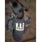 honden T-shirt Zwart Winter Letter & Nummer