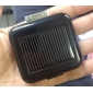 Mini Universal Solar Battery Charger for iPhone/iPod/Android Phone and USB Devices - Black