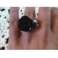 z&שחור בסגנון וינטאג 'x® עלה טבעת