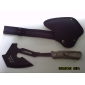 Negro de Sharp inoxidable + madera Cross Fire AXE