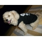 Dog Shirt / T-Shirt Black Summer Skulls / Hearts