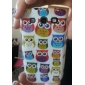 Härlig Cartoon Owl Pattern Hard Case för Samsung Galaxy S3 I9300