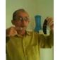 Reloj de Pantalla Cuadrada LED y Marco Plateado con Correa de Silicona