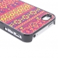 Weave Pattern Hard Case for iPhone 4/4S