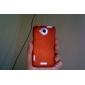 Modello della maglia Custodia protettiva rigida per HTC One X (colori assortiti)