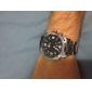 아날로그 - 디지털 듀얼 디스플레이 블랙 다이얼 손목시계 WH-1009