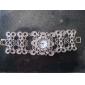 Damen  Analog Quarz Armband im Antiken Stil (Silber)