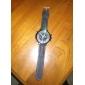 Men's Watch Quartz Military Silicone Strap