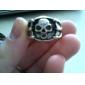 Vintage Skull Alloy Ring