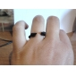 z&x® anillo flechas remache negro estilo punky de la vendimia
