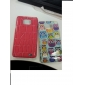 Crocodile Skin Pattern Protective Back Case for Samsung i9100 (Assorted Colors)