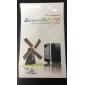 Proteggi schermo antiriflesso anteriore e posteriore con panno di pulizia per iPhone 5