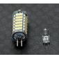 daiwl g4 5w 102x3528 SMD 400-420lm 3000-3500K bianco caldo chiaro principale lampadina del cereale (12v)
