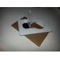 Novelty Credit Card Design Bulb Shaped Yellow LED Light (1xCR1216)