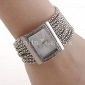 Women's Watch Czechic Diamond Dial Silver Bracelet Cool Watches Unique Watches