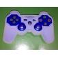 El estuche de silicona protectora para el controlador de PS3 (blanco)