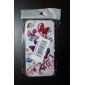 Protective Smooth Polycarbonate Front and Back Case for iPhone 4 and iPhone 4S (Butterflies)