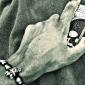 motif de tête de squelette avec un étui rigide de surface de diamant pour l'iphone 5/5s
