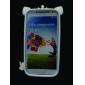 삼성 갤럭시 S4 I9500 (분류 된 색깔)를위한 크라운 소프트 케이스와 함께 사랑스러운 만화 돼지