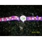 le ballon et étoile des enfants pourpré bande de montre-bracelet à quartz analogique de silicone