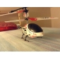 Palm Size 3.5-Channel Gyro Remote Control Helicopter with Light (Assorted Colors, Model:323B)