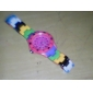 Unisex Plastic kvarts Analog Wrist Watch (Multi-Colored)