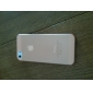 Aeneidos - Etui iPhone 5 - Couleur unie - Couvre arrière (Gel de silice, Rouge)