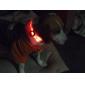 Collare LED regolabile con luce di sicurezza per cani (misura collo:22-30cm) - Colori assortiti