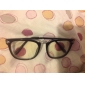 Unisex Vintage Plain Glass Spectacles Frame