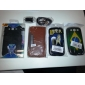 PU Leather Case with Wallet and Card Slot for Samsung Galaxy S3 I9300 (Assorted Colors)