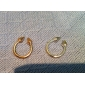 Z&X®  Vintage Punk Style Gold Rivet Arrows Ring