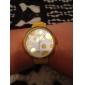 Unisexe silicone Montre analogique bracelet à quartz (couleurs assorties)