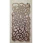 Hollow-out Modello Palazzo decorativa Back Cover per iPhone 5
