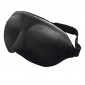3D Preto patch do sono Eyeshade
