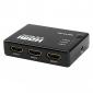 3D 1080P 3-Port HDMI Splitter V1.3 with Remote Control 0.1M (Black)