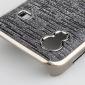 skinnende elektroplettering beskyttende taske til Samsung 5830 (sølvgrå)