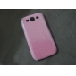 caso estilo cintilante pó dura para Samsung Galaxy i9300 s3 (cores sortidas)