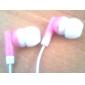3,5 mm para auriculares en la música del oído estéreo para el iphone 6 / iphone 6 más (colores surtidos)