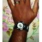 Unisex Sport Style Fabric Band Quartz Analog Wrist Watch (Assorted Colors)