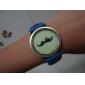 Frauen-und Mädchen-PU-Quarz Analog-Armbanduhr (farbig sortiert)