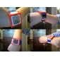 Unisex Touch Screen Digital Colorful Plastic Band Wrist Watch (Assorted Colors)
