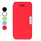 Magnet Design PU Leather Full Body Case for iPhone 5/5S (Assorted Colors)