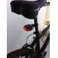 Luzes Traseiras LED de Bicicleta com 3 Modos à Prova de Água