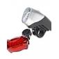 Ensemble Eclairage LED pour Vélo, 5 LED Avant, 6 LED Arrière