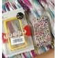 Unique Clear Back Case with Colorful Frame for iPhone 4/4S