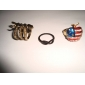 Z&X®  Individuality Fashion Style Snake Shape Ring